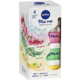 Nivea Soft Cream Kit Mix Me 4 pack