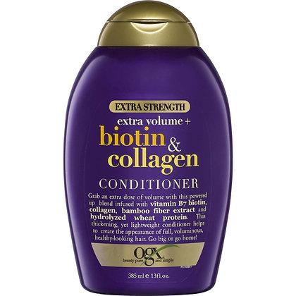 Ogx Extra Volume Biotin & Collagen Conditioner 385ml