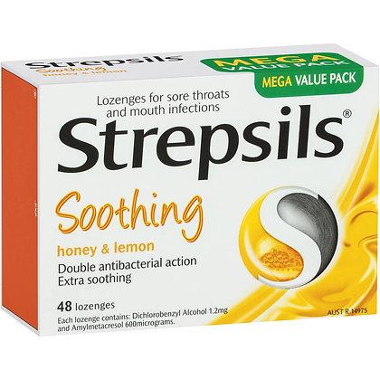 Strepsils Soothing Honey & Lemon 48 pack