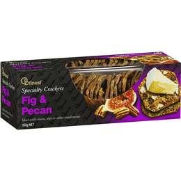 Ob Finest Fig & Pecan Specialty Cracker 150g