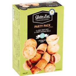 Gluten Free Bakehouse Party Pack 12 pack