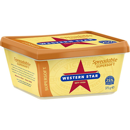 Western Star Spreadable Supersoft 375g