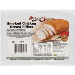 Pioneer Poultry Chicken Breast Fillet Smoked 300g - 600g