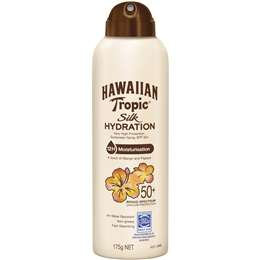 Hawaiian Tropic Silk Hydration Sunscreen Spray Spf 50 175g