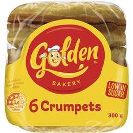 Golden Crumpets Round 6 pack