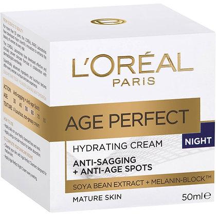 L'oreal Age Perfect Face Cream At Night 50ml