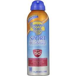 Banana Boat Spf 50+ Sunscreen Cool Zone Sport Spray 175g