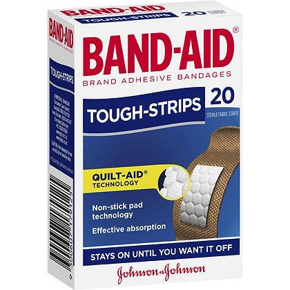 Band-aid Tough Strips Regular 20pk