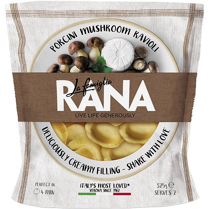 Rana Porcini Mushroom Ravioli Fresh Pasta 325g