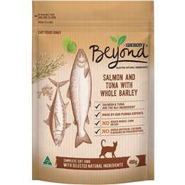 Beyond Cat Salmon And Tuna Whole Barley 480g