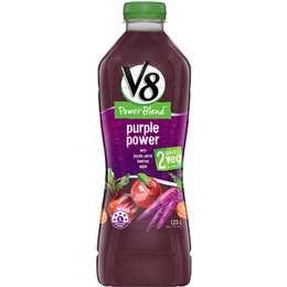 V8 Purple Power Vegetable And Fruit Juice 1.25l