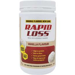 Rapid Loss Vanilla Flavour 750g