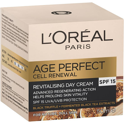 L'oreal Paris Face Cream Cell Renewal Day Cream 50ml