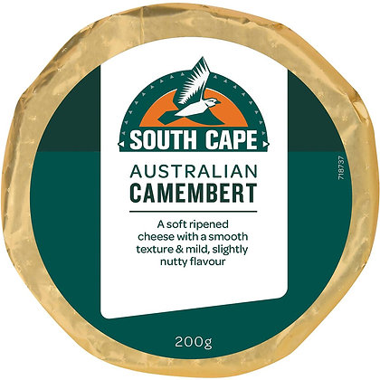 South Cape Camembert Cheese 200g