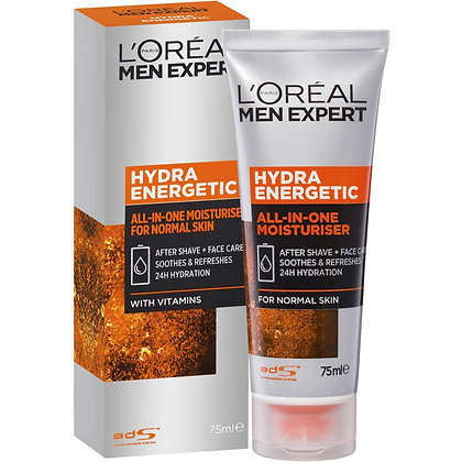 L'oreal Men Expert Hydra Energetic All-in-one Moisturiser 75ml