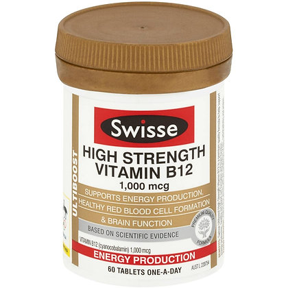 Swisse Ultiboost Vitamin B12 60 pack