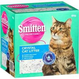Smitten Cat Litter Crystals 6kg