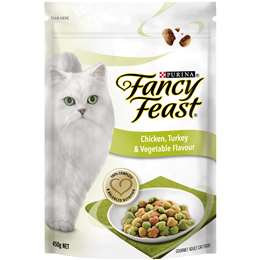 Fancy Feast Adult Cat Food Chicken Turkey & Vegtables 450g