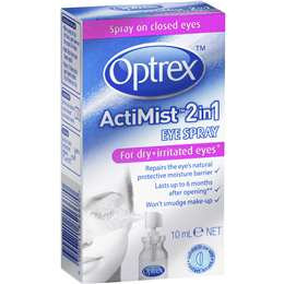 Optrex Actimist 2 In 1 Eye Spray Dry 10ml