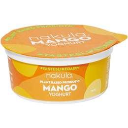 Nakula Plant Based Probiotic Mango Yoghurt 150g