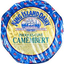 King Island Phoques Cove Camembert Cheese 200g