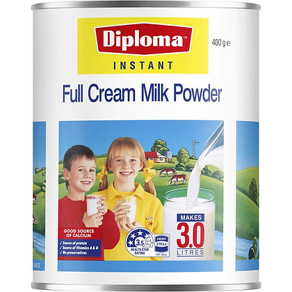 Diploma Full Cream Long Life Milk Powder 400g