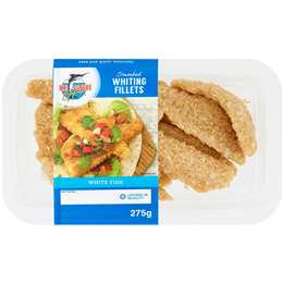 De Costi Whiting Fillets Crumbed 275g