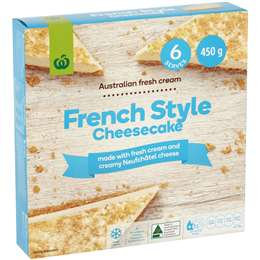 French Style Cheesecake 450g
