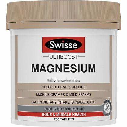 Swisse Ultiboost Magnesium 200pk