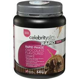 Celebrity Slim Rapid Phase Shake Mix Chocolate 840g