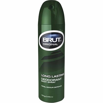 Brut Deodorant Aerosol Original 150g