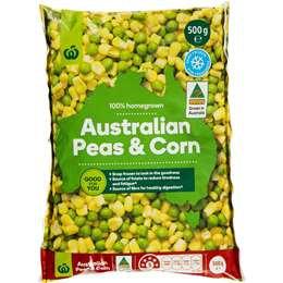 Peas & Corn 500g