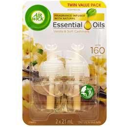 Air Wick Plug-in Air Freshener Vanilla Refill 2x19ml