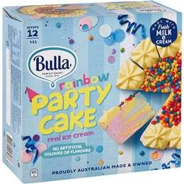 Bulla Rainbow Ice Cream Cake 1.5l