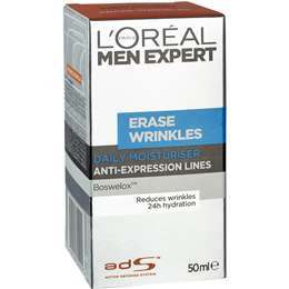 L'oreal Paris Men Expert Erase Wrinkle Moisturiser 50ml