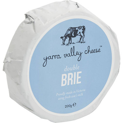 Yarra Valley Double Brie 200g