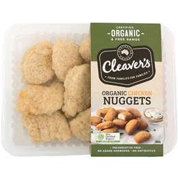 Cleaver's Organic Chicken Nuggets 300g
