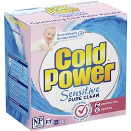 Cold Power Sensitive Pure Clewan Laundry Powder 2kg