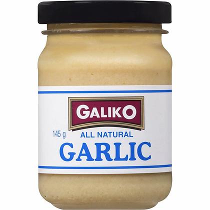 Galiko All Natural Garlic Minced Jar 145g