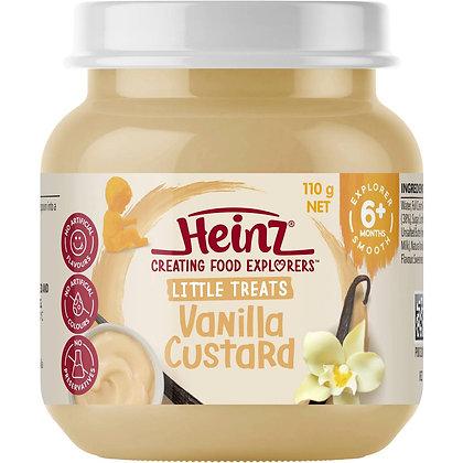 Heinz Smooth Food 6 Months Vanilla Custard 110g