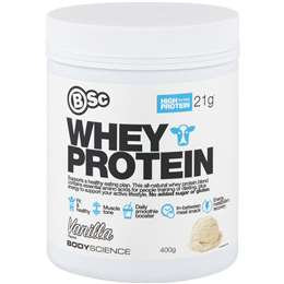 Bsc Whey Protein Vanilla 400g