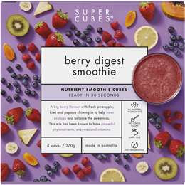 Super Cubes Berry Digest Smoothie 270g