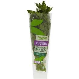 Macro Organic Herb Parsley Bunch each