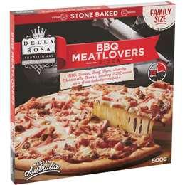 Della Rosa Bbq Meatlovers Family Pizza 500g