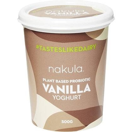 Nakula Plant Based Probiotic Vanilla Yoghurt 500g