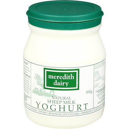 Meredith Dairy Natural Sheep Yoghurt 500g