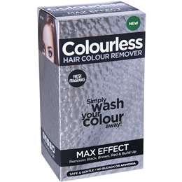 Colourless Hair Colour Remover Max Strength 180ml