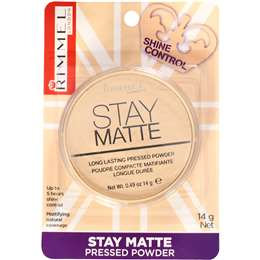 Rimmel Stay Matte Powder Pressed Transparent 14g