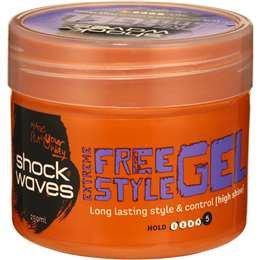 Shockwaves Gel Extreme Hold 250ml