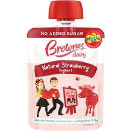 Brownes Wiggles Strawberry Pouch Lactose Free 90g